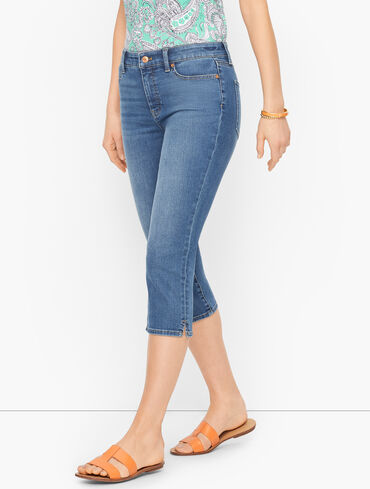 Pedal Pusher Jeans - Barrier Wash
