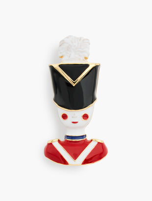 Nutcracker Girl Brooch