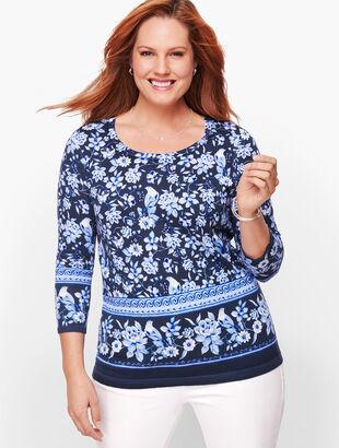 Button Cuff Sweater - Toile