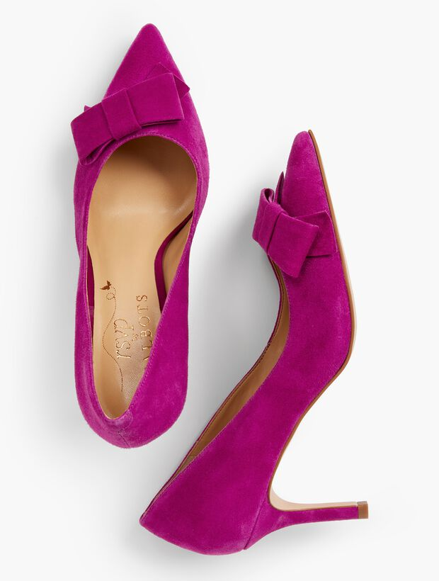 Erica Bow-Detail Pumps