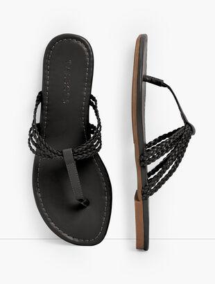 Cece Braided Flip Flops