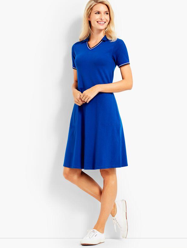 UPF 50 Pique Polo Dress