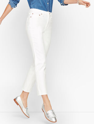 Modern Ankle Jeans - White