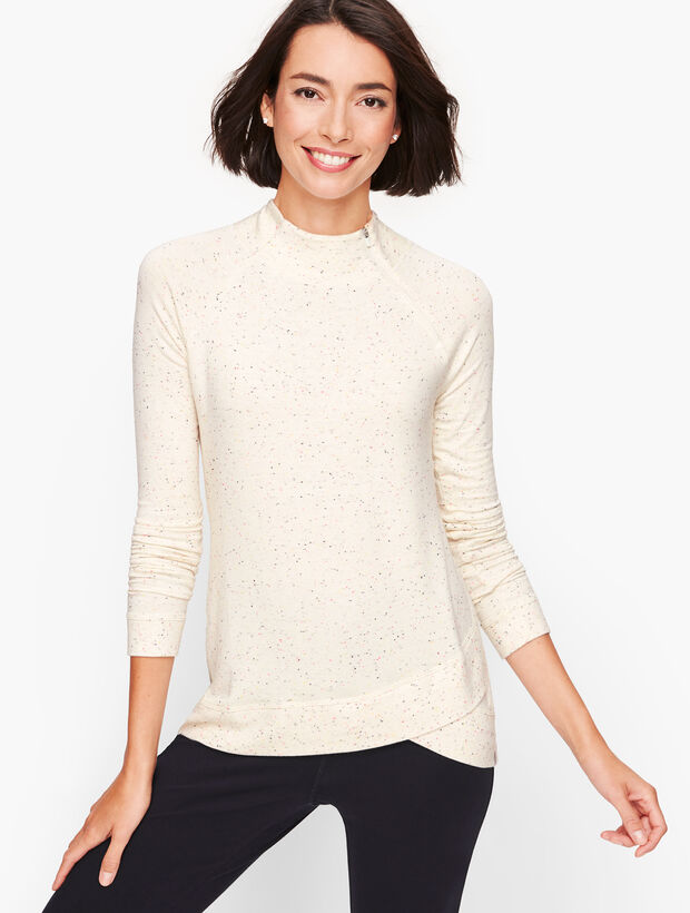 Snowy Terry Pullover