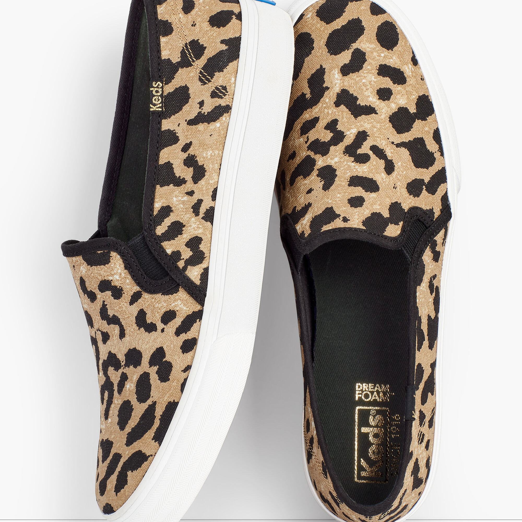 52d52efe5 ... Double Decker Leopard Canvas Slip-On Sneakers Opens a New Window.