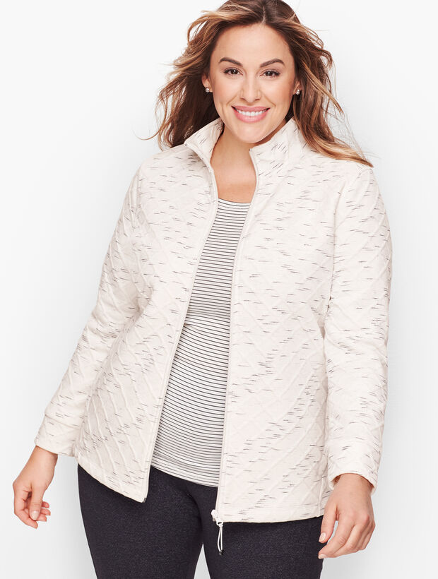 Fleece Lined Jacquard Jacket