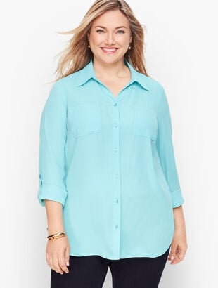 Soft Shirt - Eggshell Blue