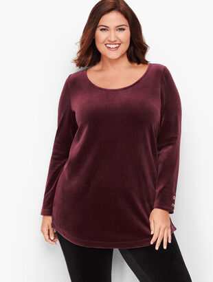 Luxe Velour Top