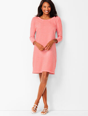 Stripe Terry Dress
