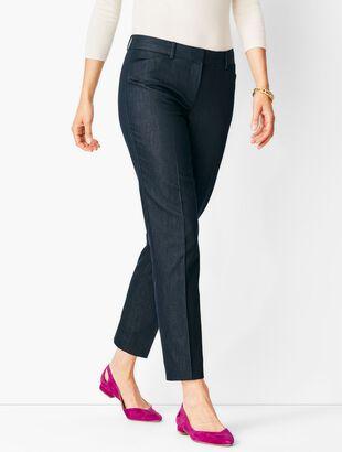 Talbots Hampshire Ankle Pants - Polished Denim