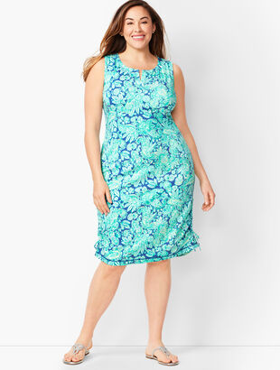 Floral Paisley Terry Dress