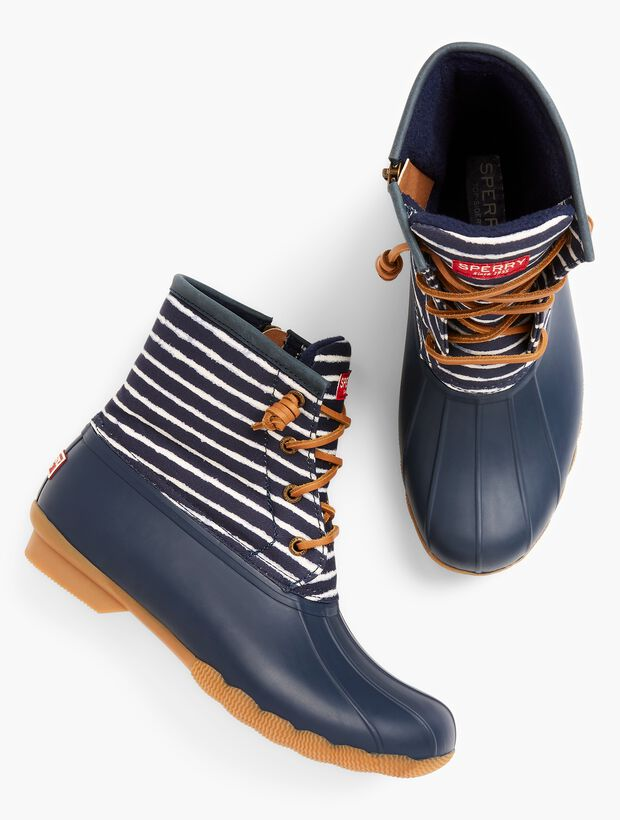 Sperry(R) Saltwater Rainboots - Stripe