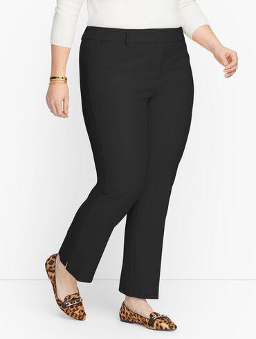 Plus Size Exclusive Talbots Hampshire Ankle Pants - Solid