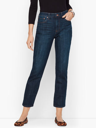 Modern Ankle Jean - Genuine Dark Wash