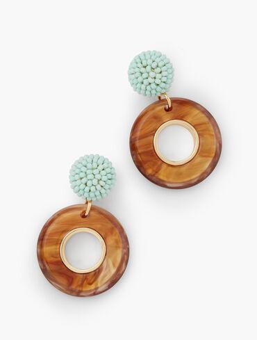 Neutral Party Drop Earrings
