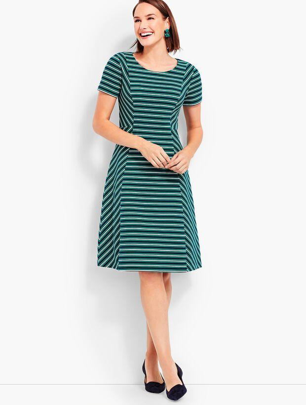 5504ce5f1eb75 Images. Fit & Flare Dress-Stripe
