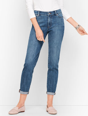 Girlfriend Jeans - Genuine Medium Wash