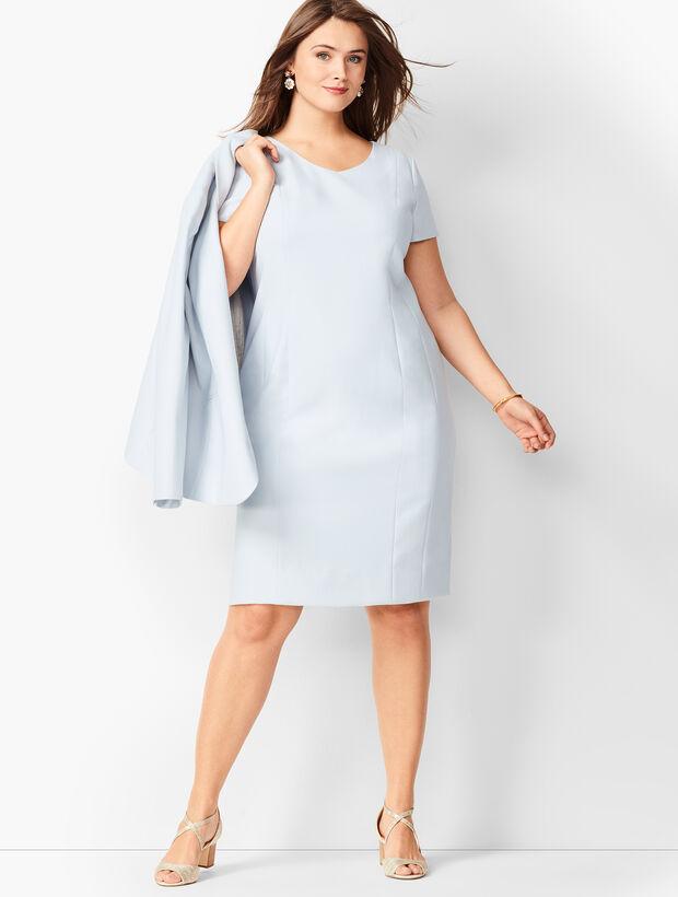 d2d0ac2295ff4 Images. Italian Luxe Double-Cloth Sheath Dress