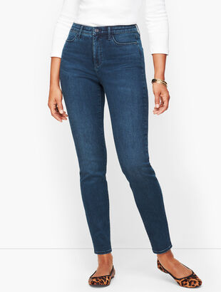 Jeggings - Curvy Fit - Ocean Blue Wash