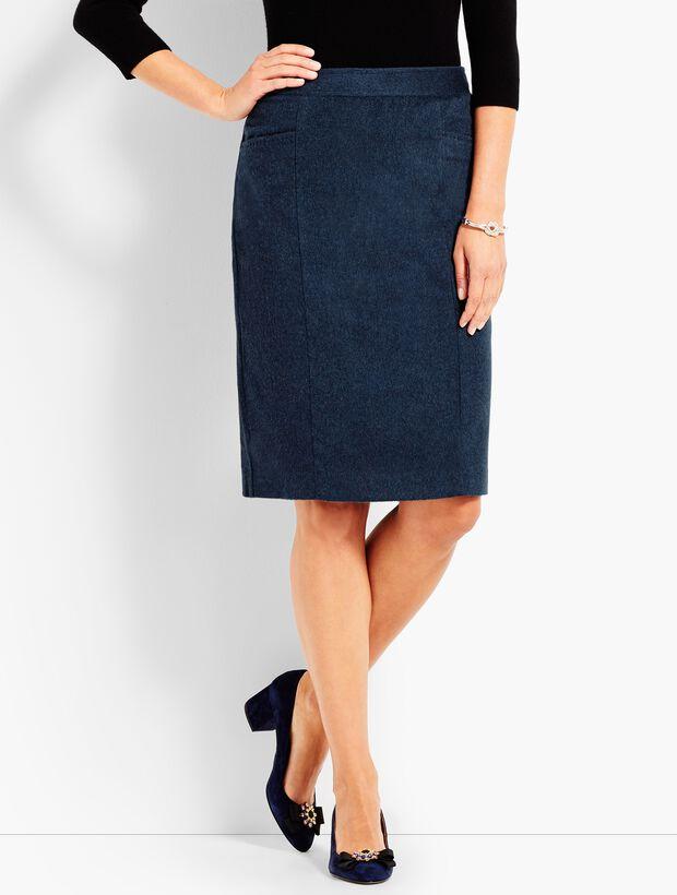 Italian Luxe Cashmere Pencil Skirt