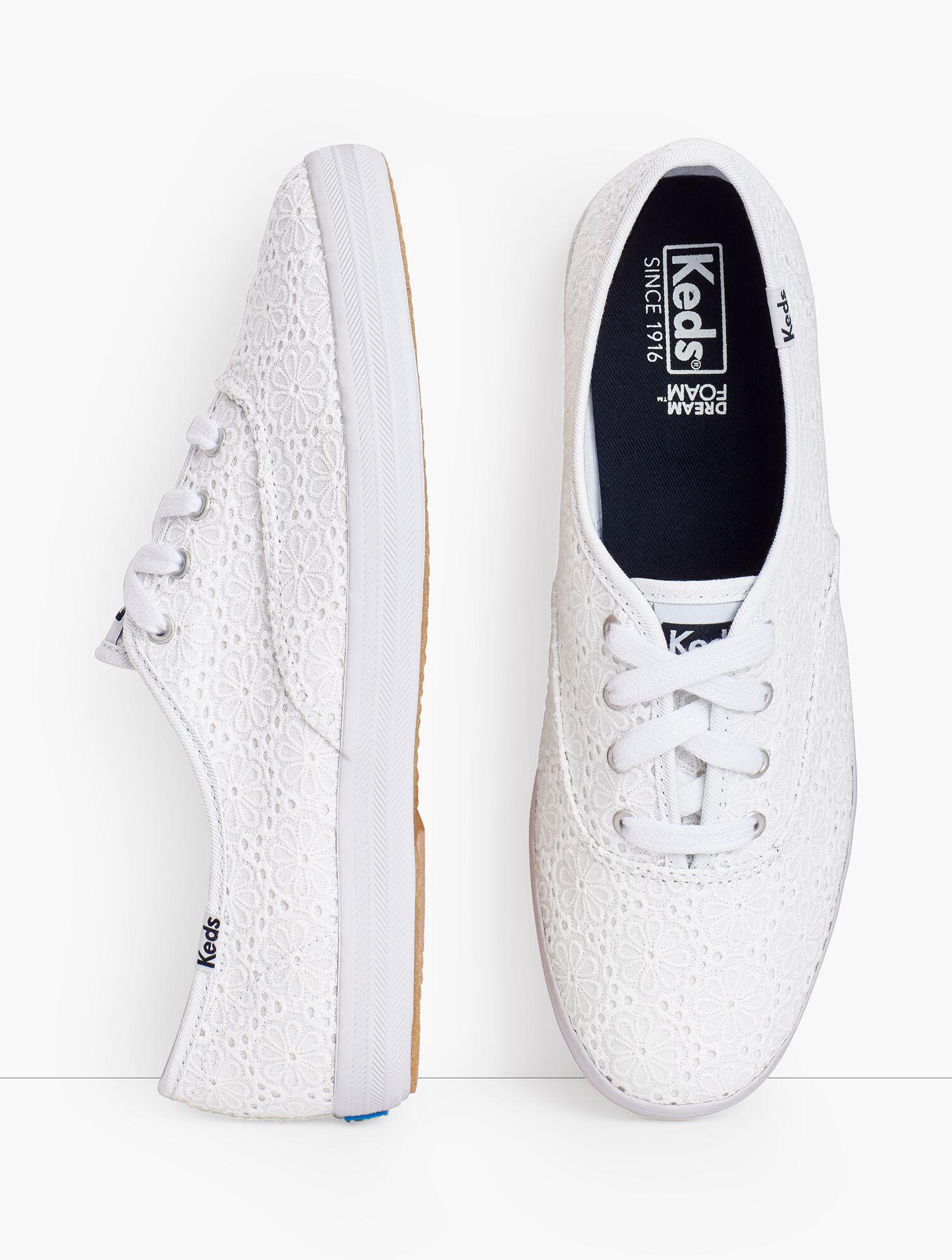 Keds Champion Sneakers® - Eyelet | Talbots