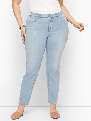 Plus Size Exclusive Slim Ankle Jeans - Curvy Fit - Skillman Wash