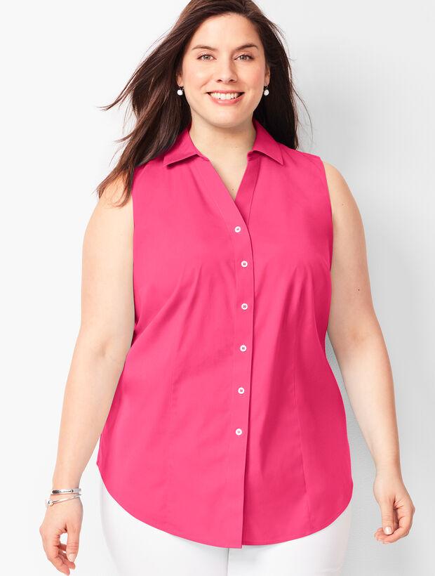 Sleeveless Perfect Shirt - Solid