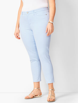 Denim Jegging Crops