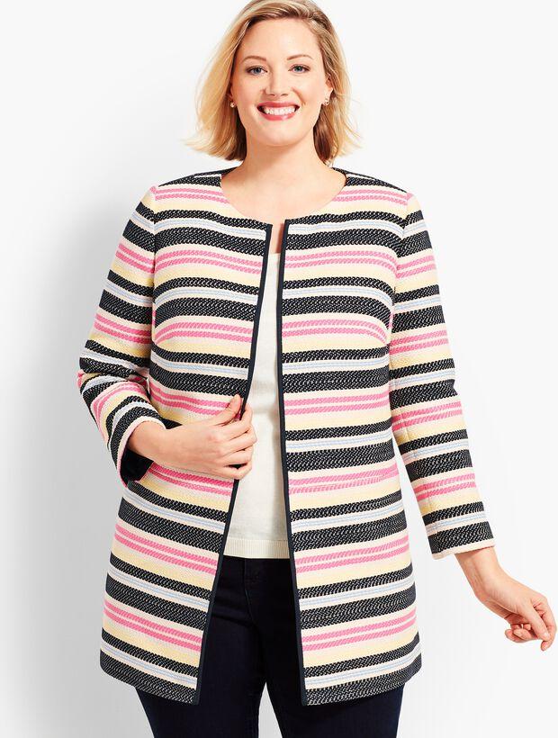 Woman Exclusive Multi-Stripe Topper