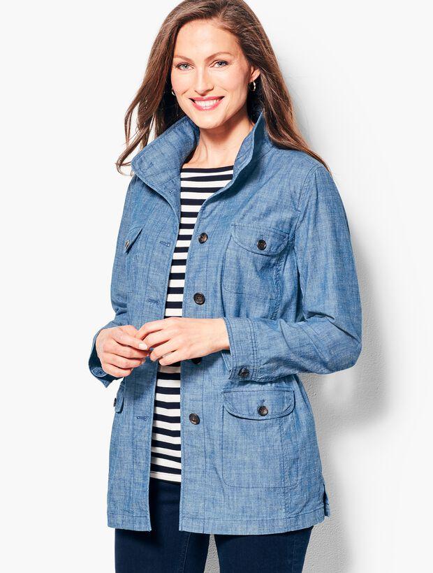 Twill Shirt Jacket - Chambray