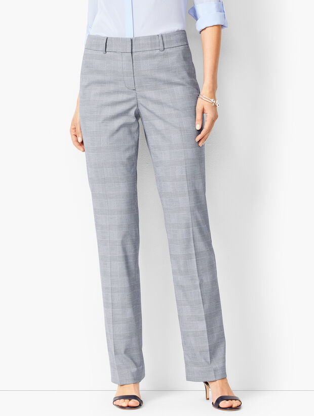 Glen Plaid Barely Boot Pants