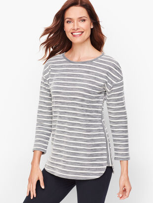 Textured Stripe Top