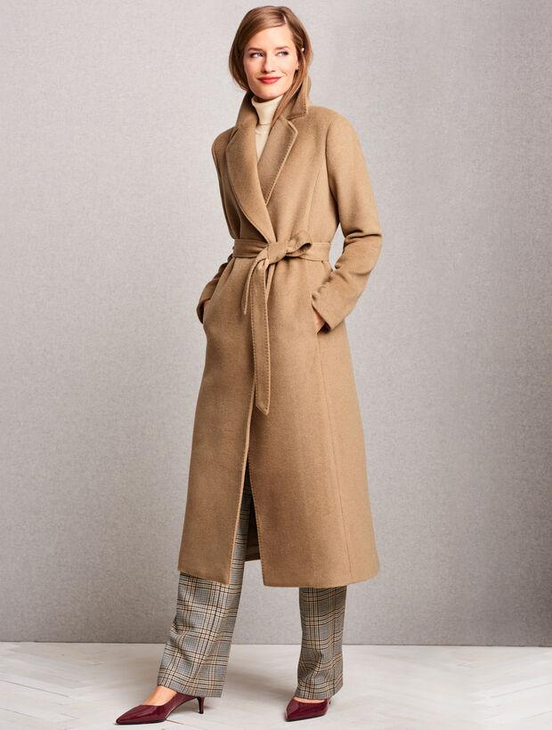 Luxe Camel Hair Coat