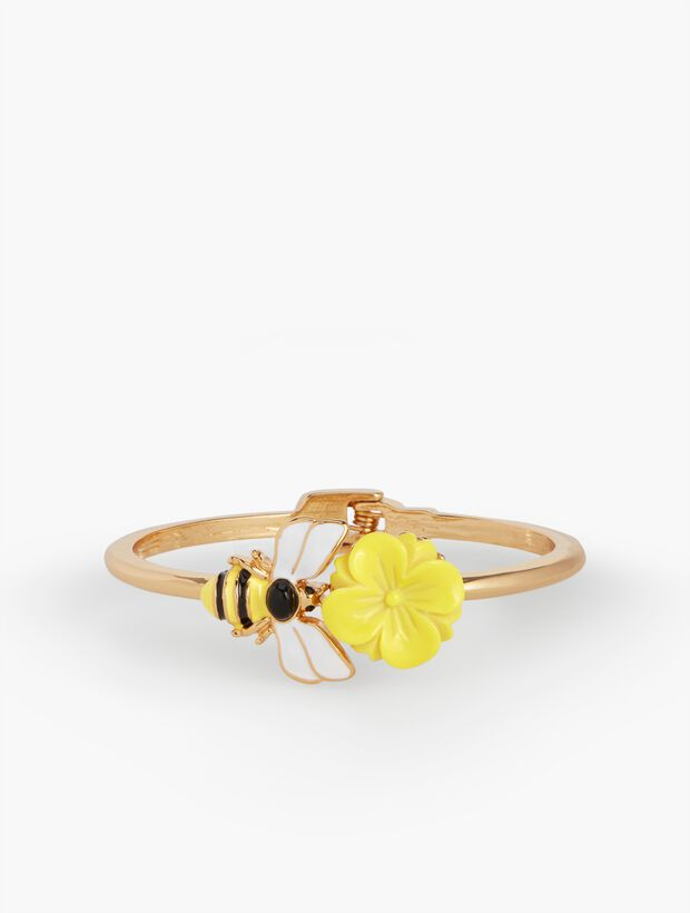 Bee Flower Bangle