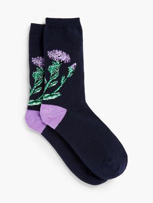 Thistle Trouser Socks