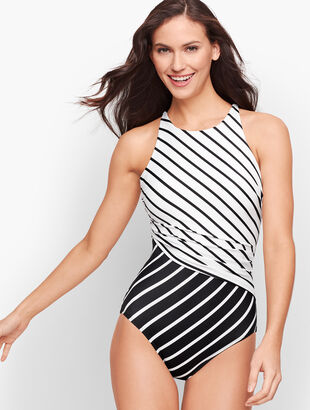 Miraclesuit® Mixed Stripe One Piece