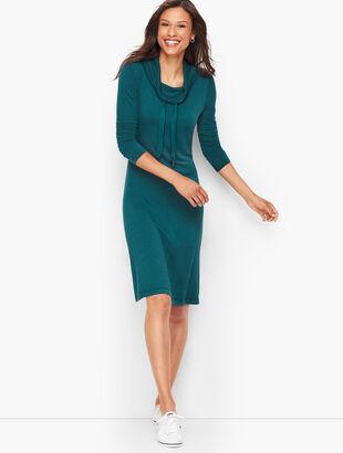 Soft Terry Cowlneck Dress
