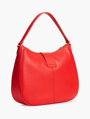 Soft Pebble Hobo Bag