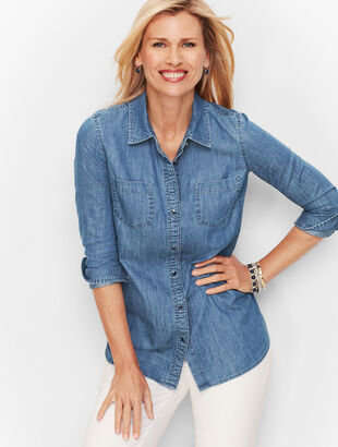 Classic Cotton Shirt - Denim