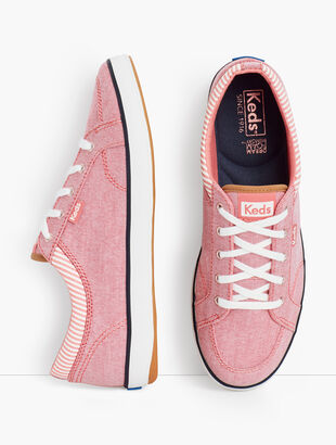 Keds® Chambray Center Sneakers