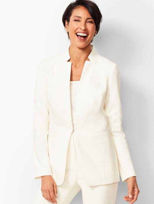 Luxe Double-Cloth Collection - Blazer