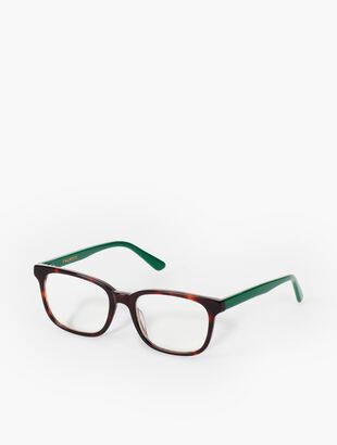 Boston Reading Glasses - Tortoiseshell