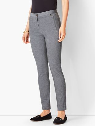 Textured Ponte Leggings