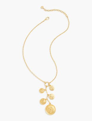 Equestrian Medallions Necklace