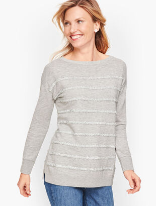 Tinsel Stripe Sweater