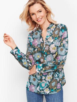 Feminine Floral Popover