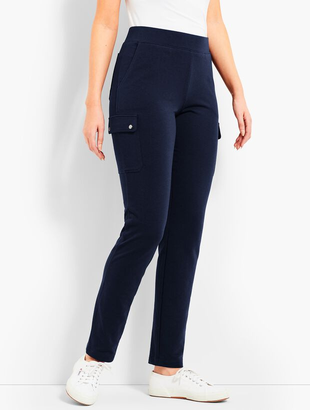 Straight-Leg Cargo Pant
