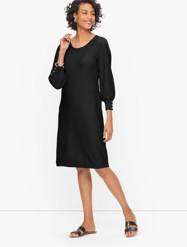 Bishop Sleeve Sweater Dress