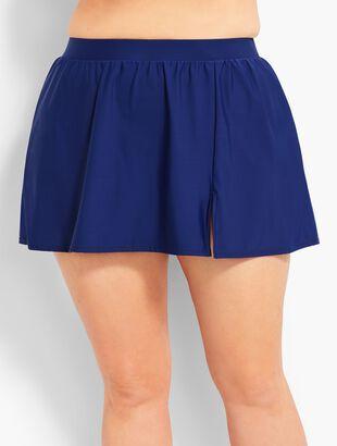 Plus Size Exclusive Swim Skirt