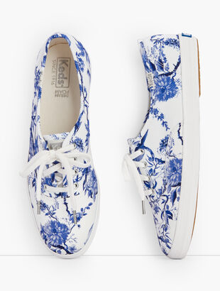 Keds® Champion Sneakers - Talbots Exclusive Tree Toile